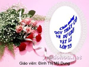 Gio vin inh Th M Dung Kim tra