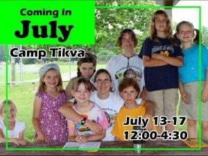 Camp Tikva Promo z worth ship Genesis 22