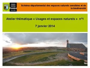 Schma dpartemental des espaces naturels sensibles et de