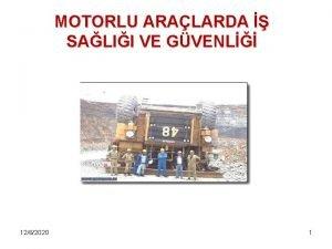 MOTORLU ARALARDA SALII VE GVENL 1262020 1 Tanmlar