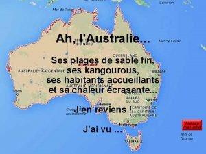 Ah lAustralie Ses plages de sable fin ses