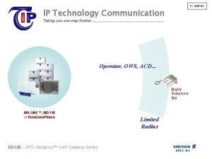 R 1 20051021 IP Technology Communication Taking you