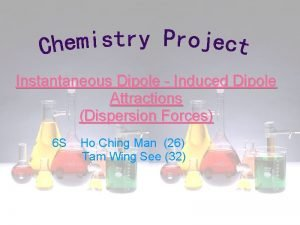 Instantaneous Dipole Induced Dipole Attractions Dispersion Forces 6