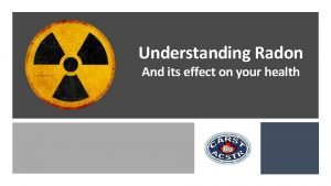 Canadian Association of Radon Scientists and Technologists Helping