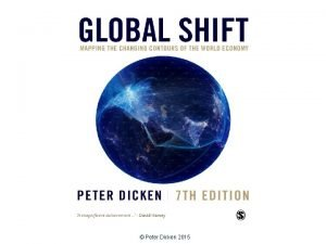 Peter Dicken 2015 Transnational Corporations The Primary Movers