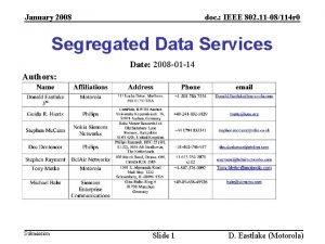 January 2008 doc IEEE 802 11 08114 r