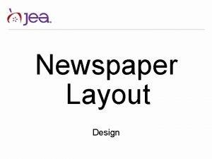 Newspaper Layout Design Newspaper sizes Letter Tabloid Newspaper