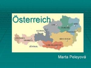 sterreich Marta Peleyov Hauptidee sterreich Mitglied der EU