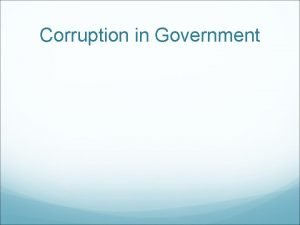 Corruption in Government Corruption Scalawags and Carpetbaggers Scalawags