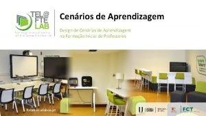 Cenrios de Aprendizagem Design de Cenrios de Aprendizagem