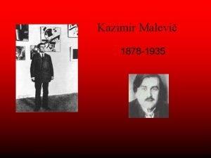 Kazimir Malevi 1878 1935 1878 na Ukrajin v