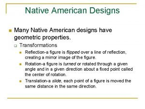 Native American Designs n Many Native American designs