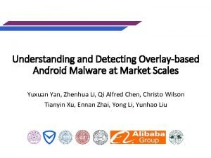 Understanding and Detecting Overlaybased Android Malware at Market