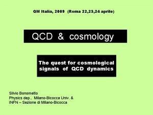 QM Italia 2009 Roma 22 23 24 aprile