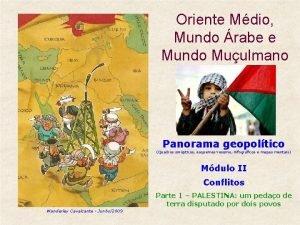 Oriente Mdio Mundo rabe e Mundo Muulmano Panorama