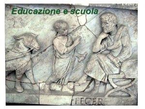 Educazione e scuola Educazione domestica Plutarco Vita di