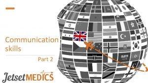 Communication skills Part 2 Understand the SBAR approach