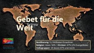 Gebet fr die Eritrea Welt Bevlkerung 5 2