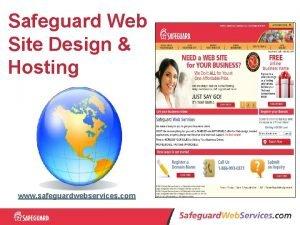Safeguard Web Site Design Hosting www safeguardwebservices com