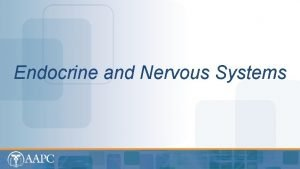 Endocrine and Nervous Systems CPT copyright 2012 American