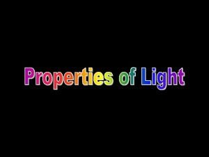 Light is an electromagnetic wave Electromagnetic wave a