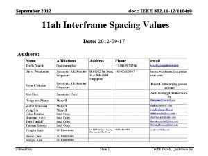 September 2012 doc IEEE 802 11 121104 r