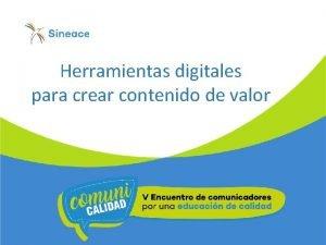 Herramientas digitales para crear contenido de valor Herramientas