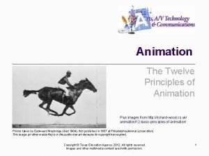 Animation The Twelve Principles of Animation Plus images