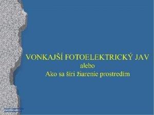 Paed Dr Jozef Beuka jbenuskanextra sk Na elektroskop