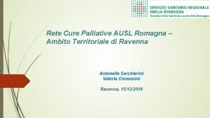 Rete Cure Palliative AUSL Romagna Ambito Territoriale di