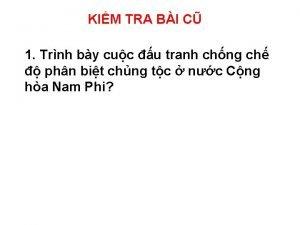 KIM TRA BI C 1 Trnh by cuc