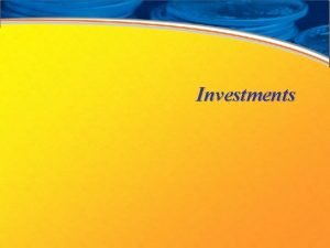 Investments Investment Options Stocks Kinds of stocks Common