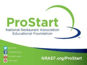Pro Start Pro Start Program Go Pro Start