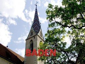 BADEN Baden miasto w SzwajcariiArgowia nad rzek Limmat
