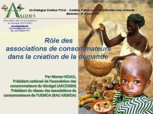 IIe Dialogue Secteur Priv Secteur Public sur la