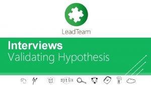Interviews Validating Hypothesis Subtitle subtitle Facebook App 2