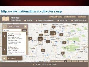 http www nationalliteracydirectory org GED Program 69 GED