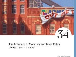 2007 Thomson SouthWestern The Influence of Monetary and