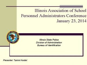 Illinois Association of School Personnel Administrators Conference January