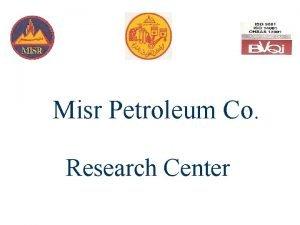 Misr Petroleum Co Research Center Cloud Point Pour