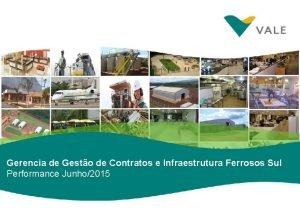 Gerencia de Gesto de Contratos e Infraestrutura Ferrosos