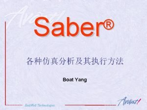Saber Boat Yang East Well Technologies East Well