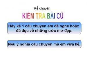 K chuyn Hy k 1 cu chuyn em
