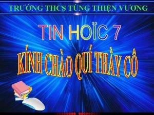 TRNG THCS TNG THIN VNG NHC LI KIN