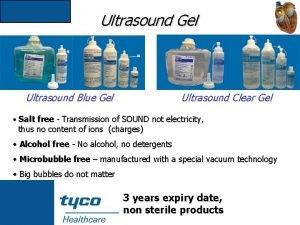 Ultrasound Gel Ultrasound Blue Gel Ultrasound Clear Gel