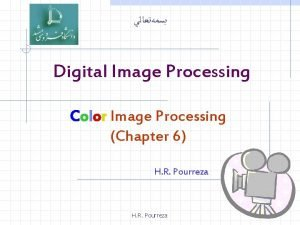 Digital Image Processing Color Image Processing Chapter 6