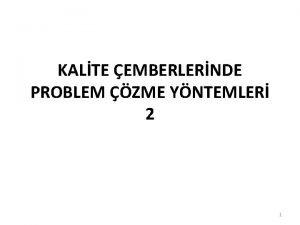 KALTE EMBERLERNDE PROBLEM ZME YNTEMLER 2 1 Nominal