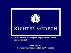 l CSR vllalati brand pts vagy vals trsadalmi