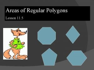 Areas of Regular Polygons Lesson 11 5 Equilateral