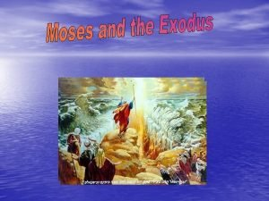 What is Exodus The Exodus is the second